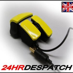 Yellow 6D Optical Sensor Scroll Wheel 6 Button Gaming Mouse For Acer Desktop