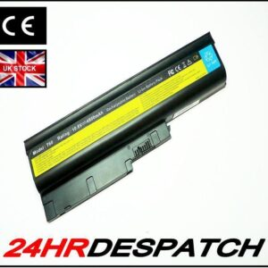 4800Mah 6 Cells Laptop Battery For Ibm Lenovo Thinkpad R60 T60 T60P Z60M Z61M