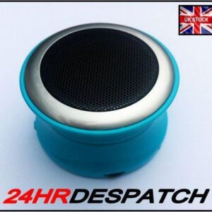 Brand New Blue Bluetooth Mini Speaker For Asus Mobile Phone