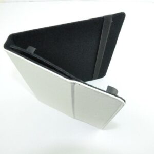 Black 10.1 Inch Android Or Ipad Tablet Pc Padded Leather Carry Case