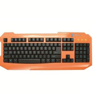 High Quality Coloured Usb Wired Gaming Keyboard For Advent Desktop/Laptop (Orang