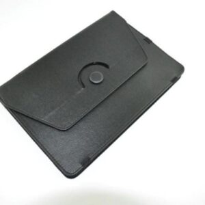 Rotating Black Leather Cover For 8 Android Tablets Ipad Uk Seller With Stand