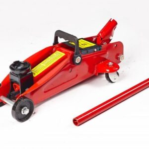 2 Ton Heavy Duty Hydraulic Trolley Floor Jack Lifting Ram Car Van Boat Caravan