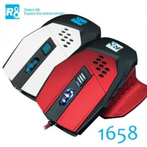 6 Button Usb Gaming Game Optical Mouse Mice Pro-Gamer Pc Laptop Red