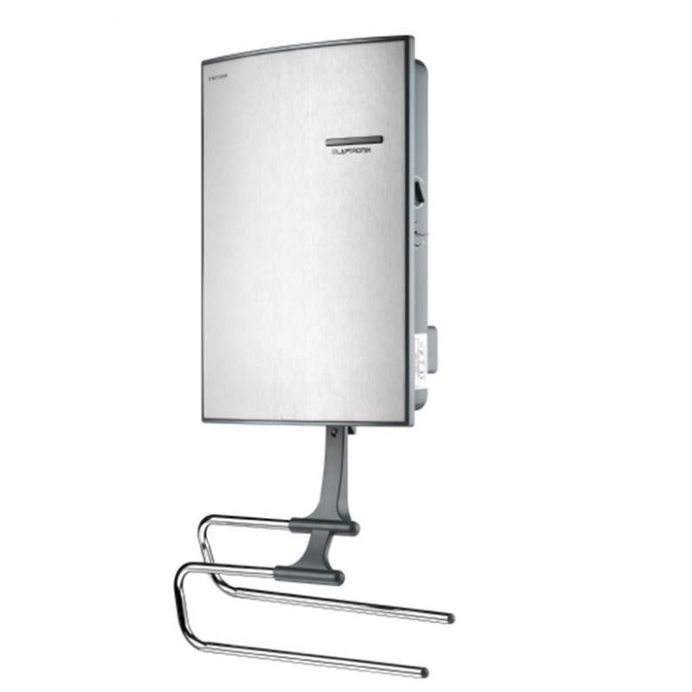 Downflow Fan Heater Bathroom 2Kw Electric Down Flow Wall Mounted Towel Rail