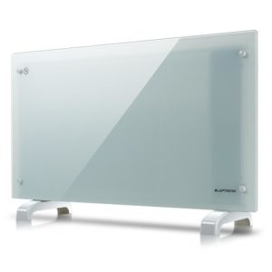White Glass Free Standing Wall Mounted Portable Electric Panel Heater