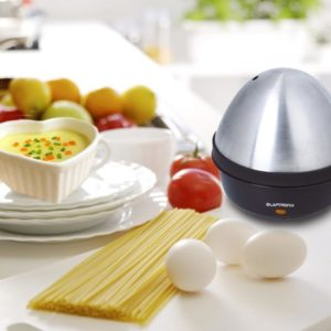 Compact Electric Egg Boiler Cooker Steamer Maker 7 Eggs for Breakfast