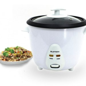 ELECTRIC RICE COOKER POT WARMER NON STICK 0.8 LITRE AUTOMATIC STEAMER COOK + CUP