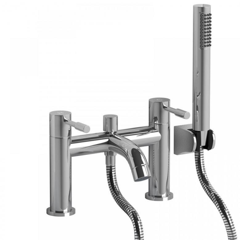 BATH FILLER SHOWER MIXER BATHROOM TAP INCLUDES SHOWER-HEAD y - Laptronix