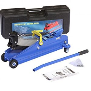 2.5 Ton Heavy Duty Hydraulic Trolley Floor Jack Lifting Ram Car Van Garage Blue