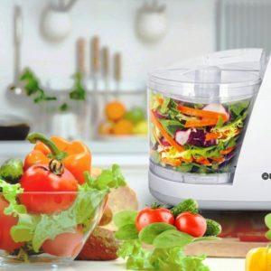 Multi-Functional Mini Kitchen Electric Food Processor / Blender / Chopper White