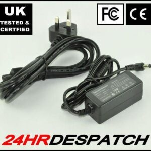 12V 3A For Asus Eee Pc 900 901 Ac Adapter Charger Psu With Uk Power Lead