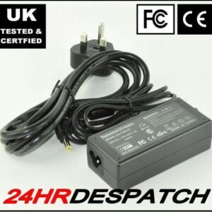 19V - 3.95A Power Supply For Toshiba Equium Laptop Uk With Lead