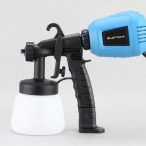 'LAPTRONIX AIRLESS ELECTRIC PAINT SPRAY GUN FOR FENCE BRICK WALLS INDOOR OUTDOOR'