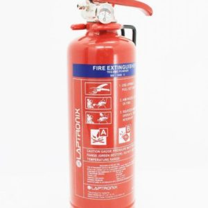1KG DRY POWDER ABC FIRE EXTINGUISHER HOME OFFICE CAR VANS KITCHEN WITH BRACKET