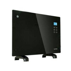 1500W Black Glass Free Standing Wall Mounted Portable Electric Panel Heater