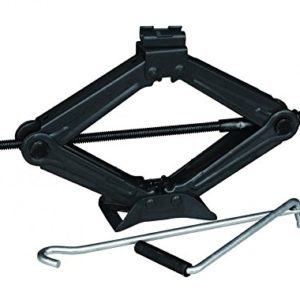 High Quality 2 Ton Tonne Car Van Garage Home Emergency Wind Up Scissor Jack Black