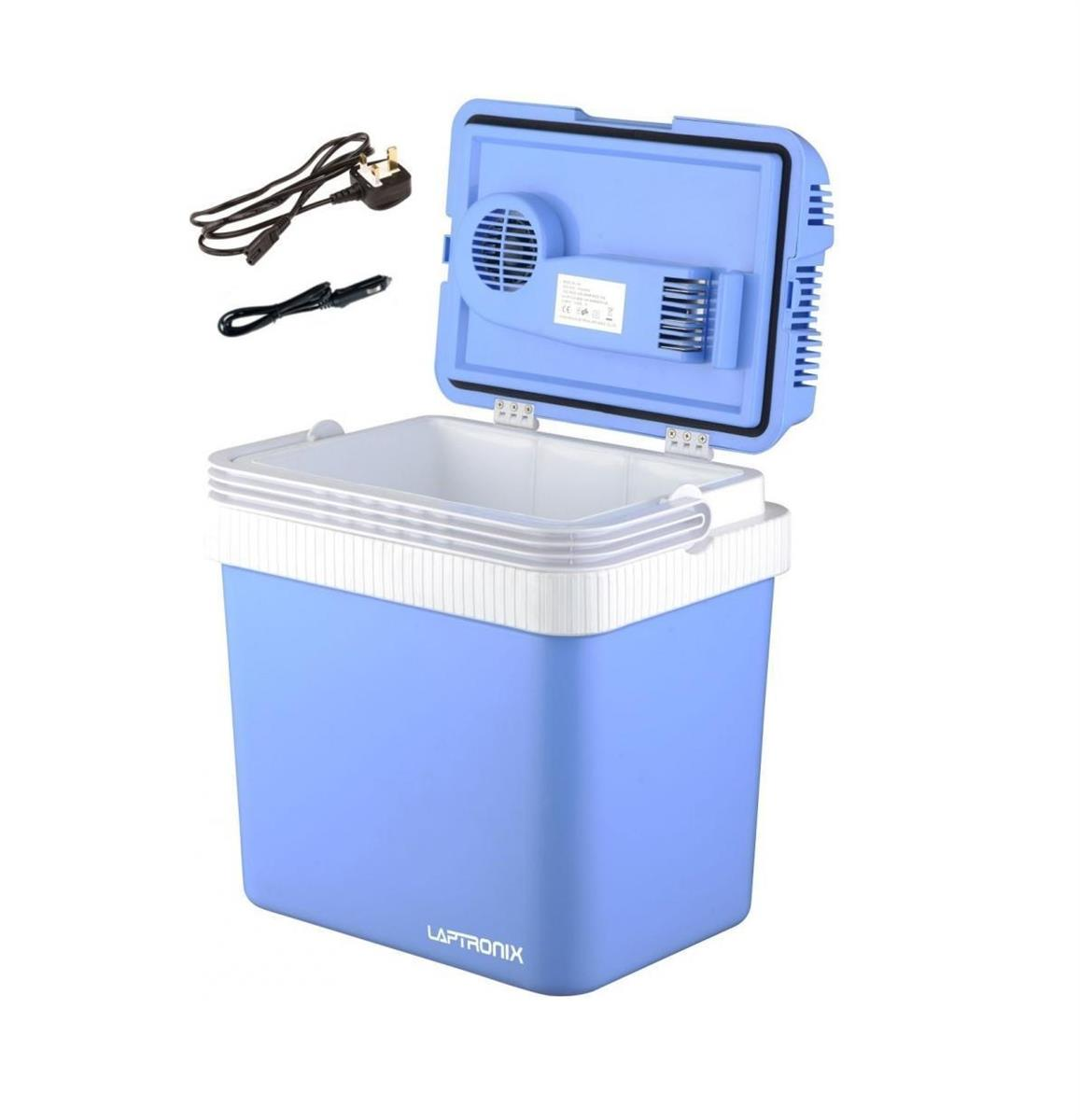u002724L PORTABLE COOL BOX ELECTRIC COOLER CAR VAN ICE FRIDGE WITH 12V u0026 240V ADAPTER  sc 1 st  Laptronix & 24L PORTABLE COOL BOX ELECTRIC COOLER CAR VAN ICE FRIDGE WITH 12V ... Aboutintivar.Com