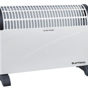 Laptronix 2000W Electric Convector Heater Portable Thermostat 2kw Wall Mounted