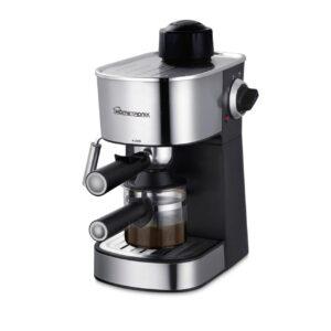 HomeTronix 4 Bar Coffee Maker Machine Espresso Latte Cappuccino Stainless Steel